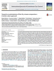 Rütters et al. (2016): Towards an optimization of the CO2 stream composition - A whole-chain approach. IJGGC 54, 682-701