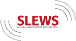 SLEWS - A Sensorbased Landslide Early Warning System. Logo